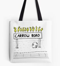 Carrow Road - Canary Cartoon (inspired by Norwich City FC) Tote Bag