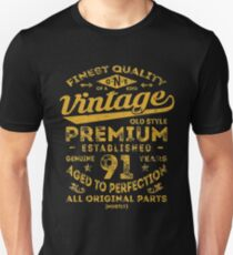 Vintage 91st Birthday Gift Idea Unisex T-Shirt