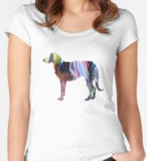 Deerhound  Women's Fitted Scoop T-Shirt