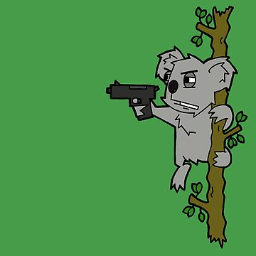 Badass Koala by skanimations