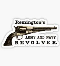 Remington Army Navy Revolver Ad Sticker