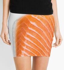raw salmon fillet Mini Skirt