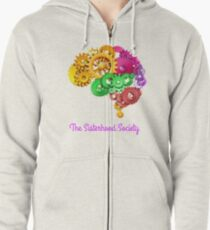 Just Wired Differently  Zipped Hoodie