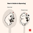 Bear's Guide to Spooning by Panda And Polar Bear