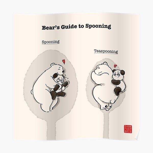 Bear's Guide to Spooning Poster