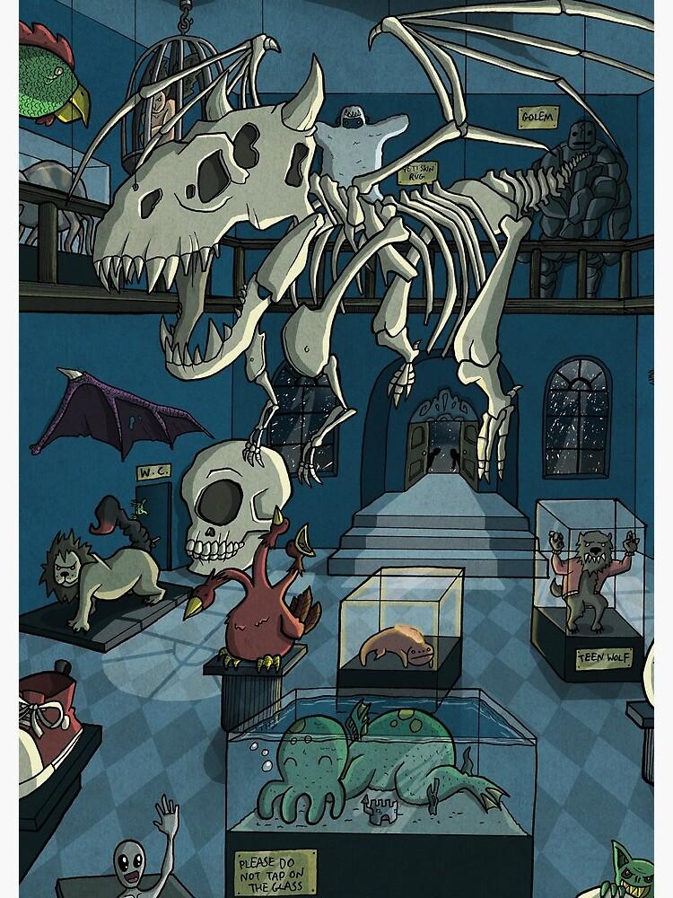 Monster Museum by ollierayart