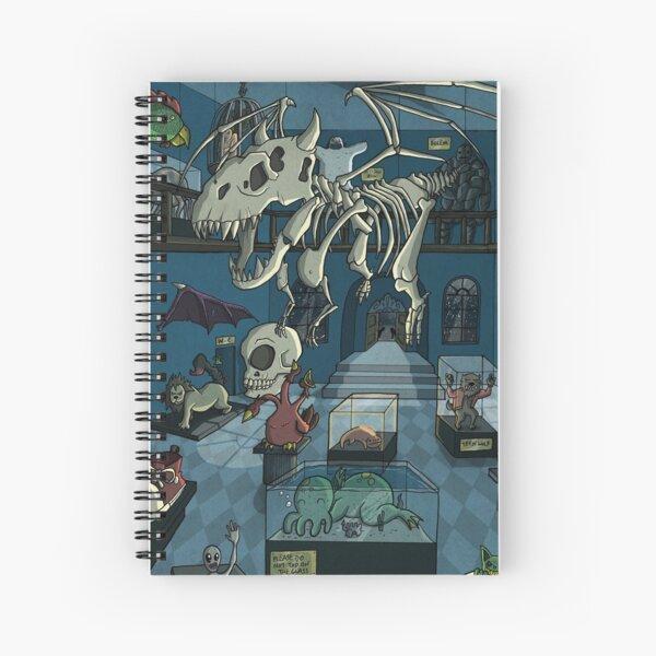 Monster Museum Spiral Notebook