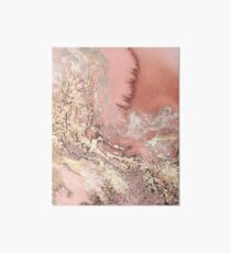 Rose Gold Marble Art Board