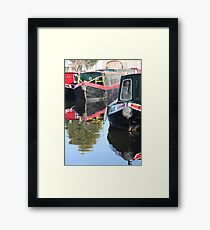 Canal Colours Framed Print