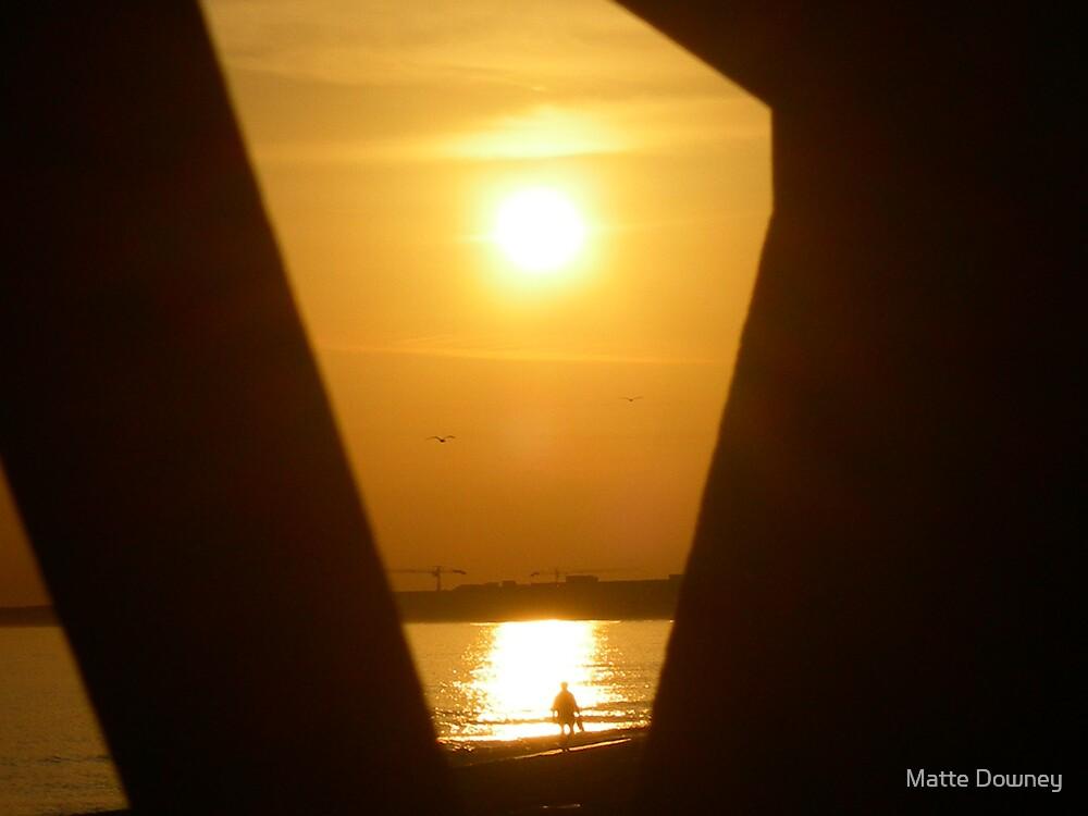sunrise from the boardwalk by Matte Downey