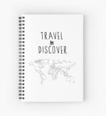 Travel and discover / Weltenbummler Spiral Notebook