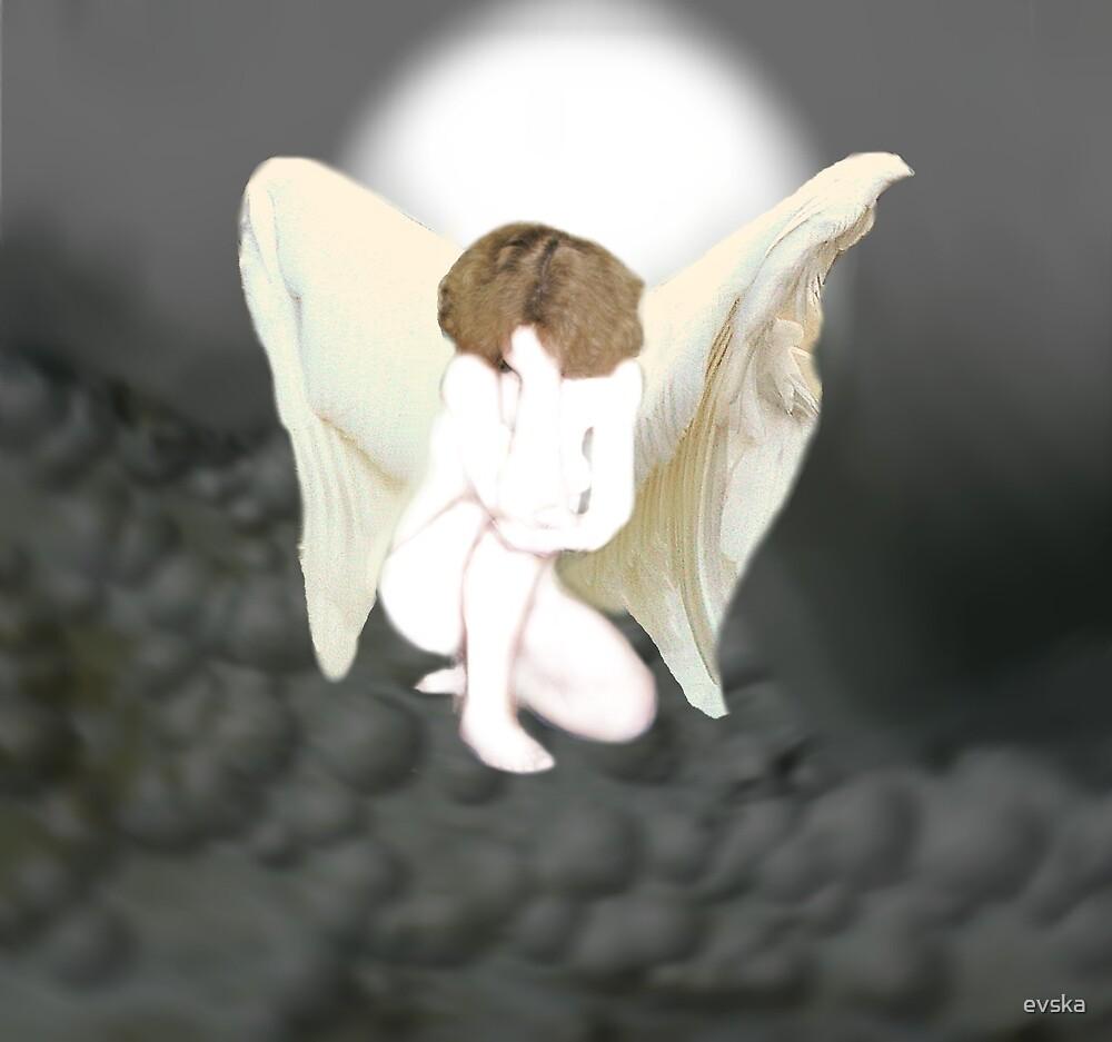 WHITE ANGEL by evska