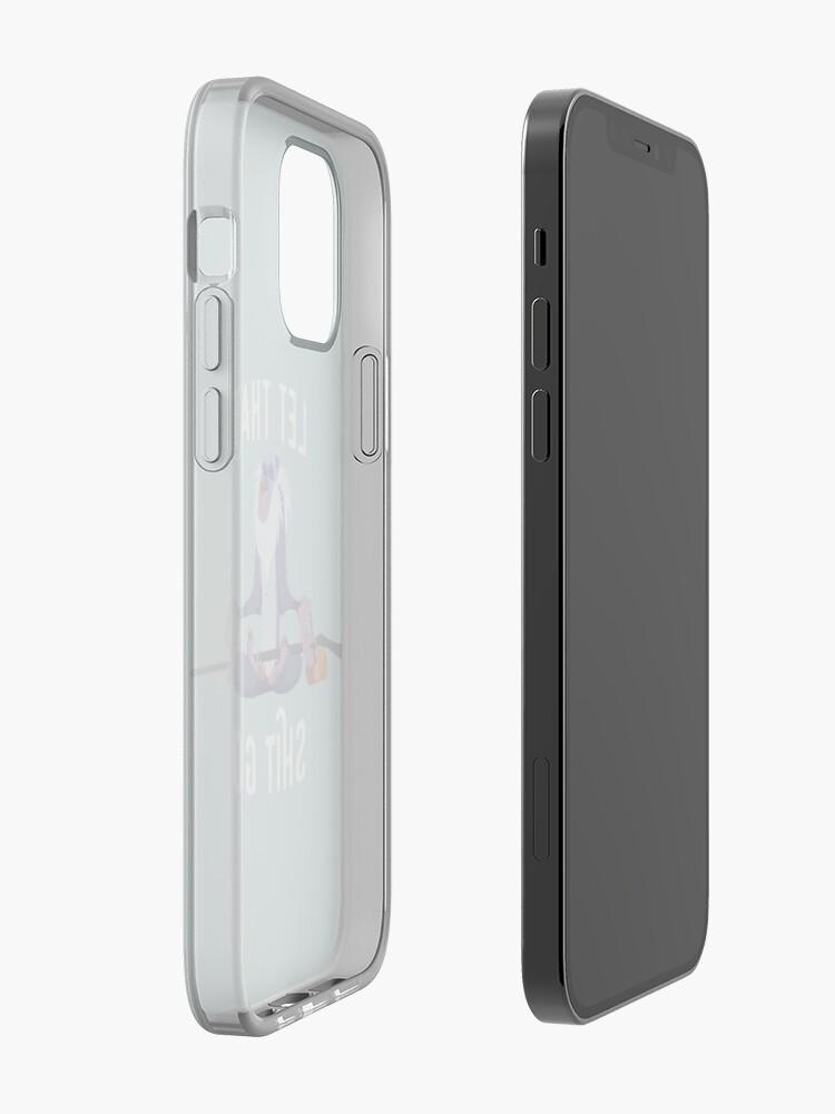Alternate view of Let that shit go iPhone Case & Cover