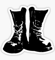 Skinhead Boots  Sticker