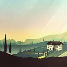 Tuscany Fairytale von schwebewesen