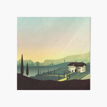 Tuscany Fairytale Galeriedruck