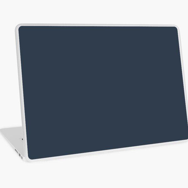 Naval Navy Blue Solid Color Laptop Skin