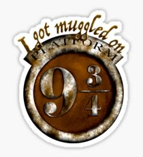 I got muggled Sticker