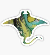 Manta ray  Sticker