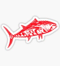 The Albacore Abstract Sticker