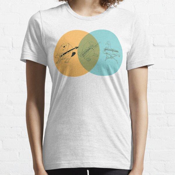 Keytar Platypus Venn Diagram - OGB Essential T-Shirt