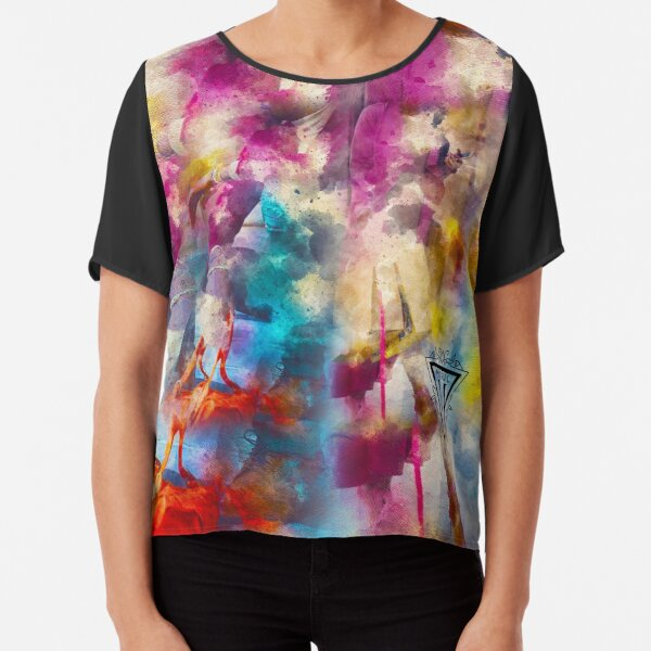 Stay Fly Type! Chiffon Top