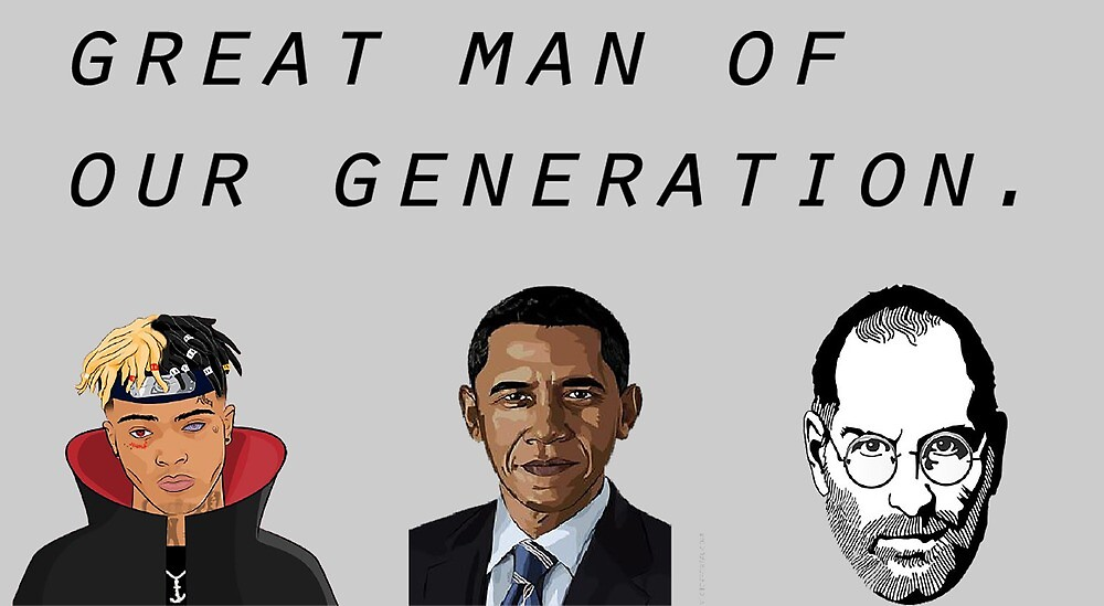 Great man of our generation by The Illustrators