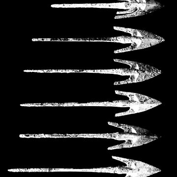 Iron Age Arrows by nadegata