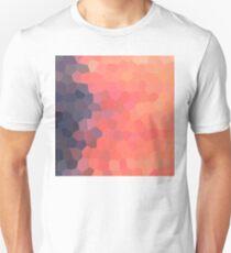 Geometric Ombre Sunset Unisex T-Shirt