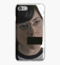 Aubrey Plaza cursing - Scott Pilgram vs the world iPhone Case/Skin