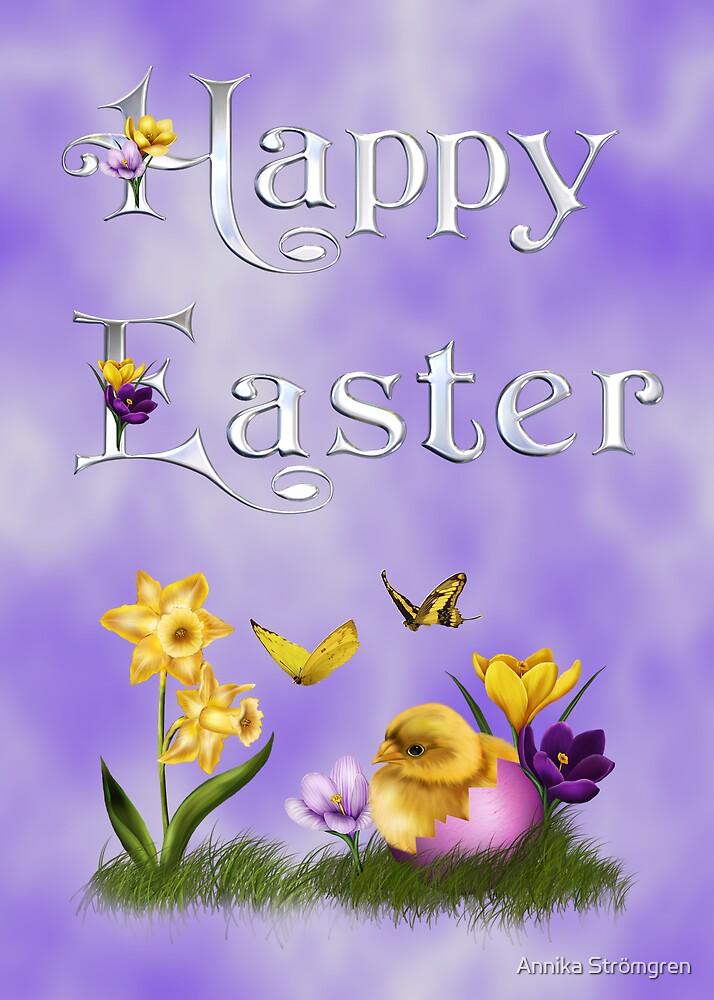 Happy Easter 3 by Annika Strömgren