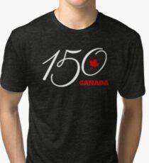 Canada 150, Canada Day Celebration Tshirt / Decor Tri-blend T-Shirt