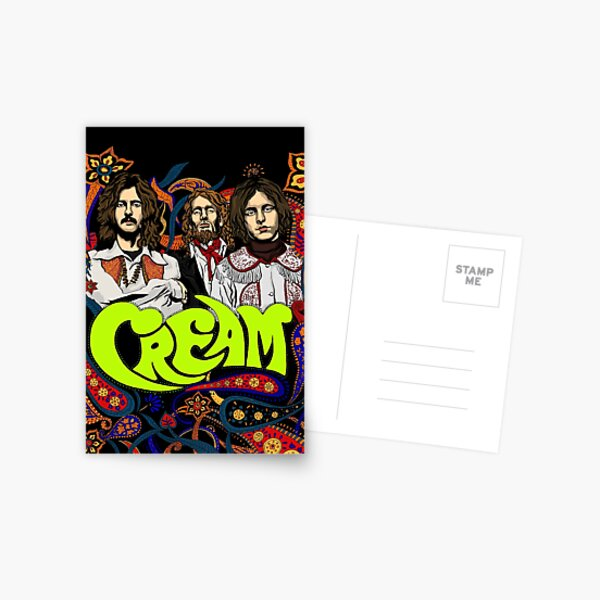 Cream Band, Clapton, no background Postcard