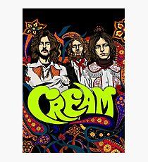 Cream Band, Clapton, no background Photographic Print