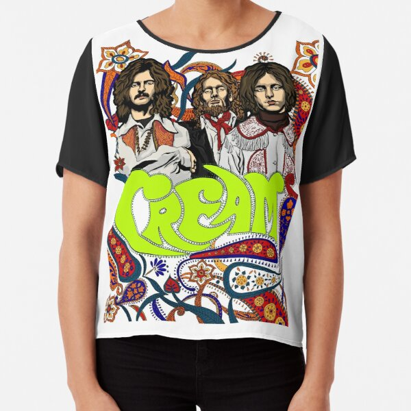Cream Band, Clapton, no background Chiffon Top