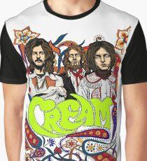 Cream Band, Clapton, no background Graphic T-Shirt