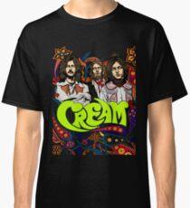 Camiseta clásica Cream Band, Clapton, sin fondo