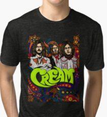 Cream Band, Clapton, no background Tri-blend T-Shirt