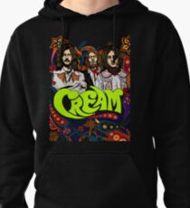 Cream Band, Clapton, no background Pullover Hoodie