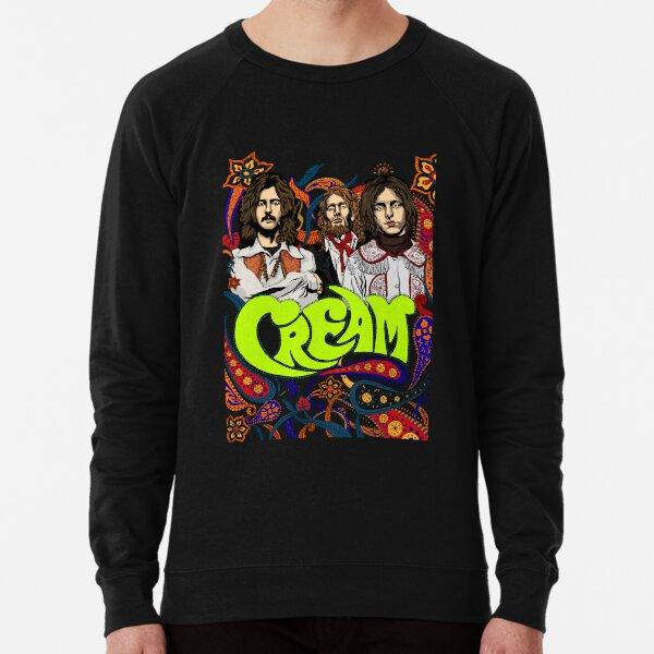 Cream Band, Clapton, no background Lightweight Sweatshirt