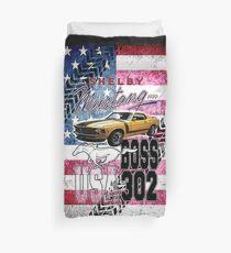 Mustang Shelby Boss  Duvet Cover