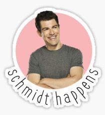 Schmidty Happens Sticker