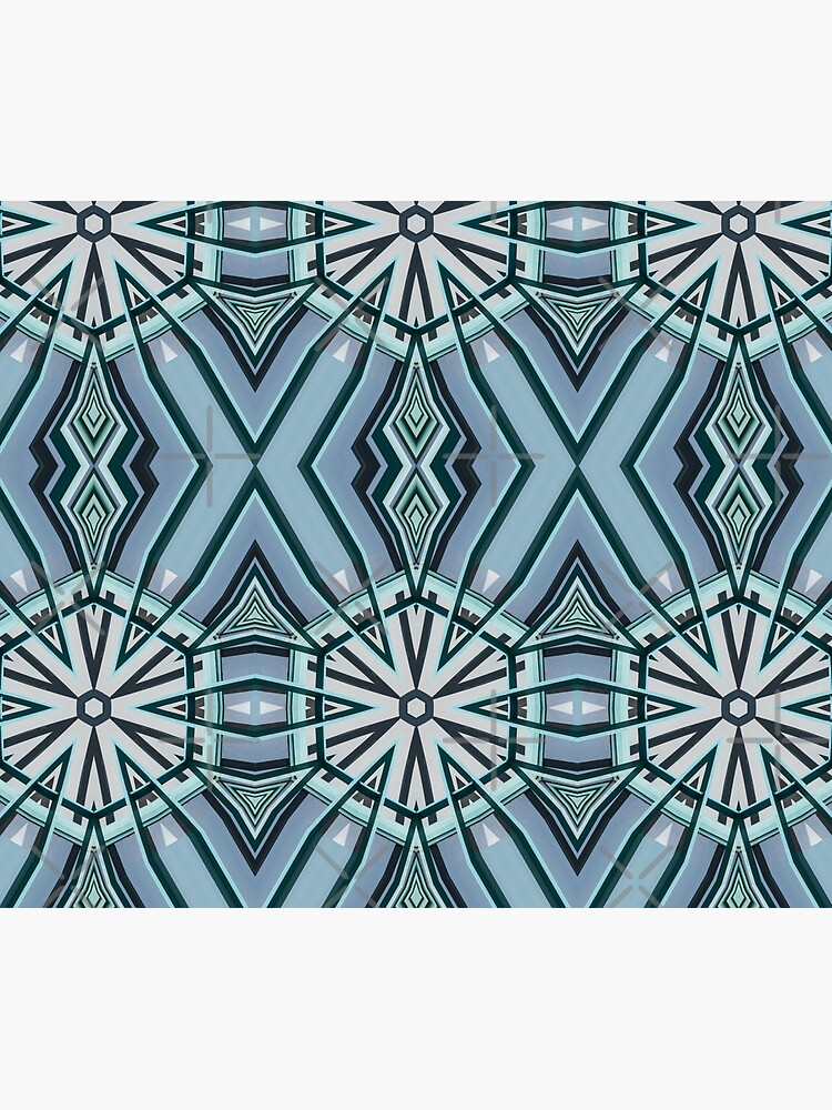 Architecture kaleidoscope light blue by nobelbunt