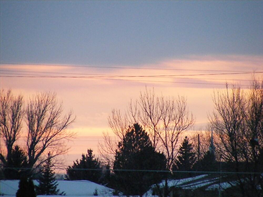 Rexburg sunset by tetoncowgirl