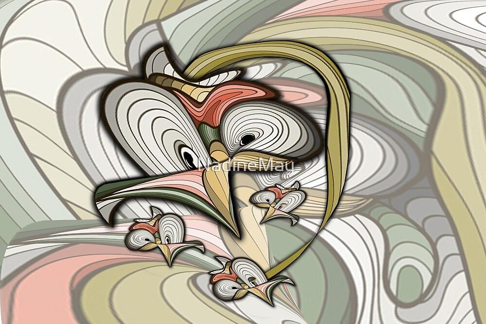 Organic futuristic creation.  by NadineMay