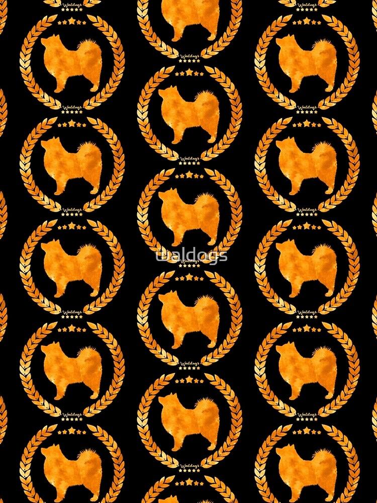 Finnish Lapphund Camo Gold by waldogs