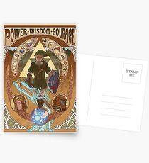 Art Nouveau Legend of Zelda Postcards