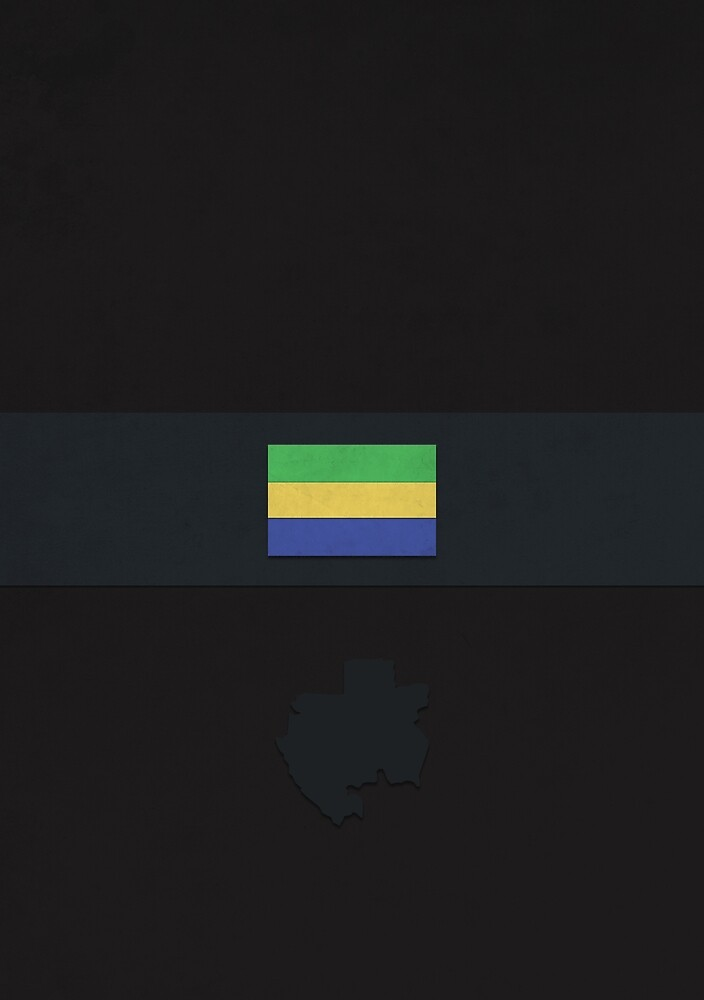 Gabon by FlatFlags