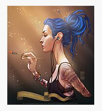 Karou Painting in Light Photographic Print
