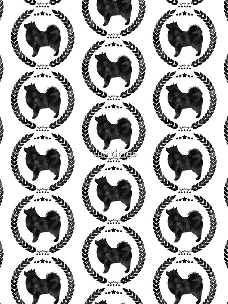 Finnish Lapphund Camo Black by waldogs